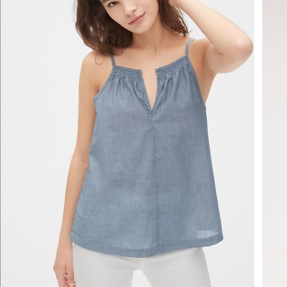 GAP Tops - Gap smocked cami